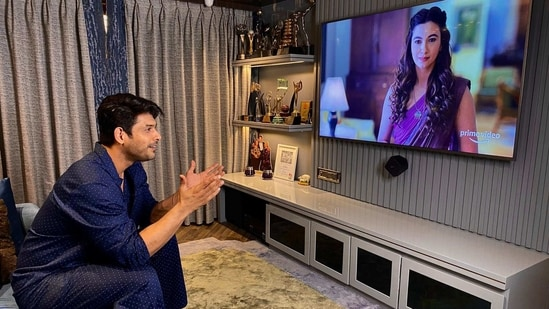 Sidharth Shukla finished three episodes of the new Amazon Prime Video show Tandav.