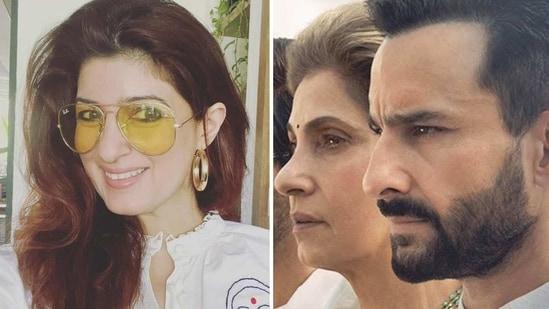 Twinkle Khanna praised her mother Dimple Kapadia's performance in Tandav.