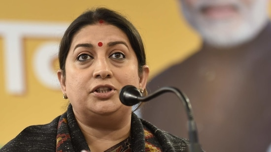 Vartika Singh had alleged that Vijay Gupta and Rajnish Singh, the two ''aides'' of the Union minister, initially demanded <span class='webrupee'>₹</span>1 crore from her and then brought the amount down to <span class='webrupee'>₹</span>25 lakh.(Sanjeev Verma / Hindustan Times)