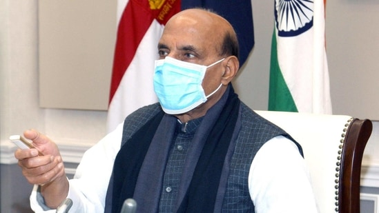 Defence minister Rajnath Singh said the country's doctors, nurses, paramedical staff and other frontline workers who fought against the virus are now going to get a protective shield. (ANI File Photo )