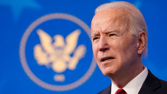 Joe Biden is elevating the post of science adviser to Cabinet level, a White House first.(AP)