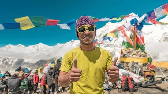 Arjun Vajpai is a Noida-based mountaineer, who summitted Mt Everest when he was 16.