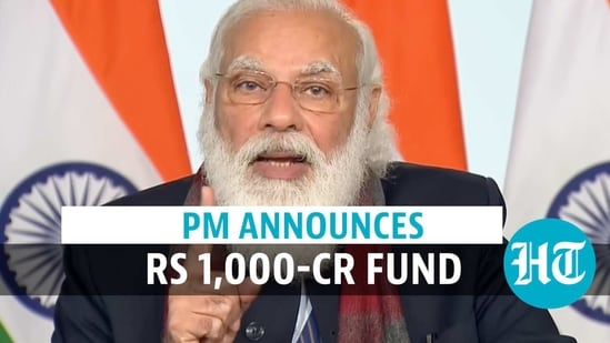 PM Modi announces ₹1,000 cr fund