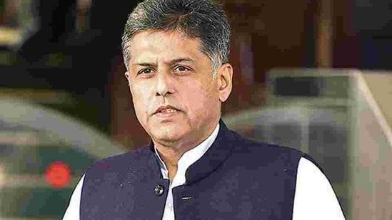 Congress leader Manish Tewari(Sonu Mehta/ HT archive)