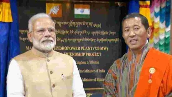 <p>Prime Minister Narendra Modi and Bhutan PM Lotay Tshering inaugurated the Mangdecchu hydroelectric power plant in Bhutan on Saturday. PM Modi had arrived in Bhutan for a two day visit and laid out details of several projects. PM Modi also launched the RuPay card in Bhutan. </p>