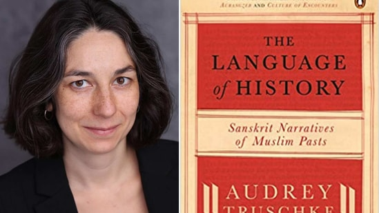 Audrey Truschke and her book, The Language of History: Sanskrit Narratives of Muslim Pasts(Instagram/Amazon)