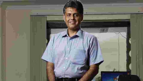 Congress MP Manish Tewari questioned the government over the efficacy of Covaxin. (Raj k Raj/ HT File Photo )