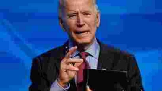 During his election campaign, Biden, a Democrat, made tackling Covid-19 and the economic hardships it had put on Americans a core pitch to voters.(AP)