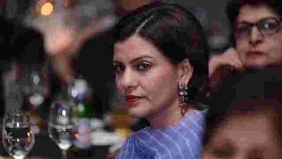 Nidhi Razdan issued a statement to say that she was victim of a phishing attack.(Yogesh Kumar/Hindustan Times )