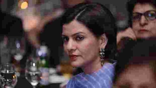 """Nidhi Razdan said in January last year, she got an email from an """"alleged Harvard human resources person"""" from what appeared to be an official Harvard email ID, with an offer letter and agreement.(Yogesh Kumar/Hindustan Times )"""