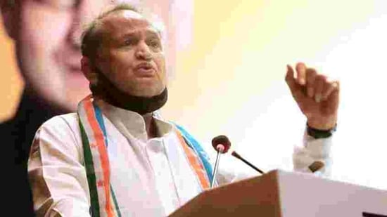 Rajasthan CM Ashok Gehlot.(HT File Photo)