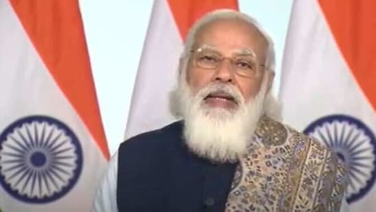 Prime Minister Narendra Modi addresses the nation virtually ahead of the launch of the vaccine drive.