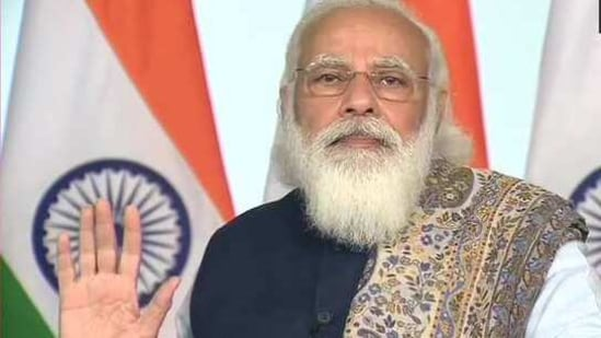PM Modi said the coronavirus disease kept people away from their families.(ANI/Twitter)