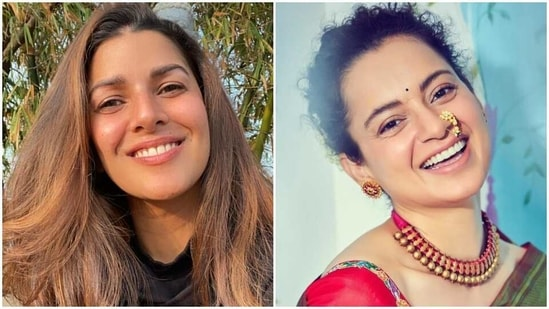 Nimrat Kaur and Kangana Ranaut have tweeted about the Covid-19 vaccine getting administered in India.