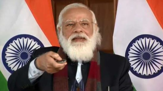 Prime Minister Narendra Modi(Screengrab)