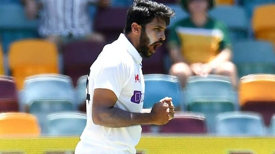 Shardul Thakur picked up three wickets in the first innings. (Getty)