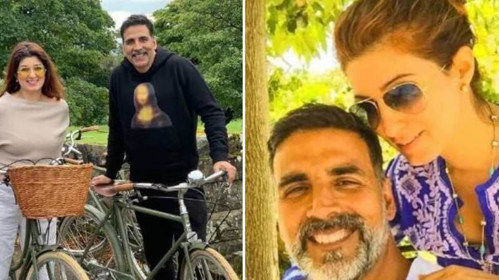 Akshay Kumar wishes Twinkle Khanna on anniversary, she jokes: 'You are the beauty and the brawn in this partnership' | Hindustan Times