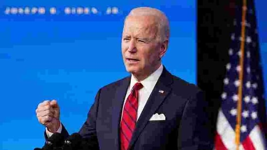 Joe Biden will take oath as the US President on January 20.(REUTERS)