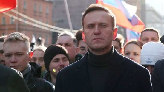 Russian opposition politician Alexei Navalny in a rally.(Reuters/ File photo)