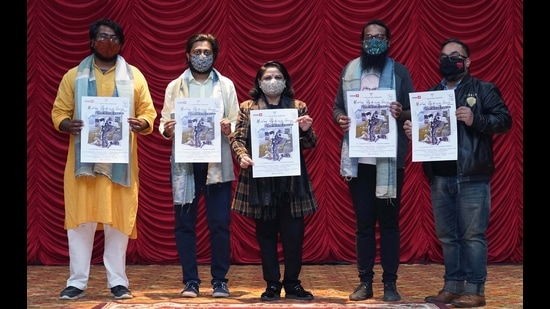 The film is directed by Shirdhar Sudhir, an industry mentor at Chitkara Design School and alumnus of National Institute of Design. (HT Photo)