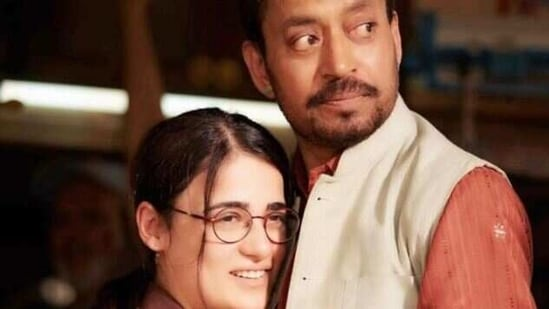 Actor Radhika Madan plays late actor Irrfan's onscreen daughter in Angrezi Medium. She will be seen next in the Bollywood venture Shiddat.