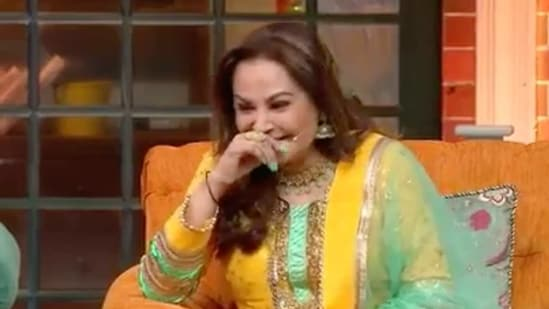 Jaya Prada was a guest on The Kapil Sharma Show's Sunday episode.