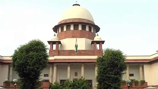Justice Eswaraiah has filed his affidavit after an SC bench, headed by Justice Ashok Bhushan, directed him on January 11 to affirm it on oath that the voice in recorded conversation was his and he filed a correct transcript of the recording.(PTI)