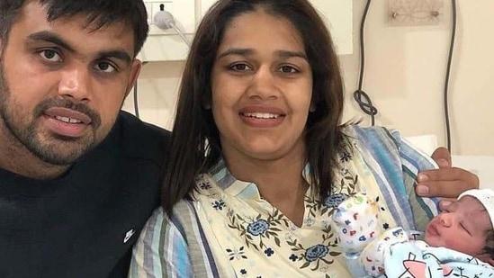 Wrestler and politician Babita Phogat and husband, wrestler Vivek Suhag recently became proud parents of a baby boy.
