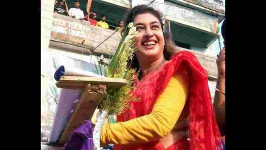 TMC MP Satabdi Roy said that she had discussed all her grievances with Abhishek Banerjee, the chief minister's nephew.(HT_PRINT)