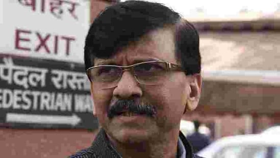 Shiv Sena MP Sanjay Raut sparked Sunday's war of words with the Congress with his newspaper column.(HT FILE PHOTO)