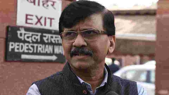 Shiv Sena MP Sanjay Raut announced the party will contest in West Bengal Assembly Election 2021(HT PHOTO)