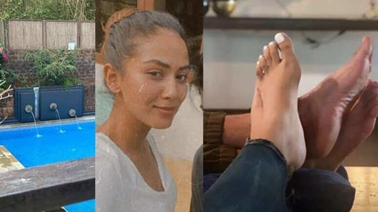Mira Rajput shared many pictures from her Goa vacation with husband Shahid Kapoor.