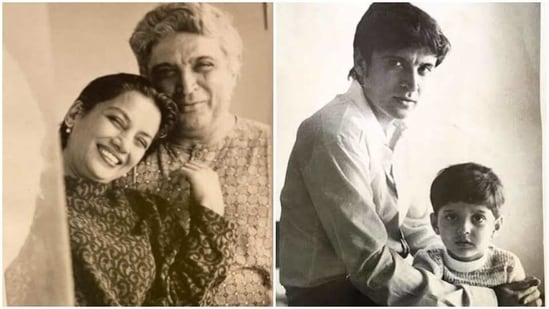 Javed Akhtar got birthday wishes from his wife Shabana Azmi and son Farhan Akhtar.