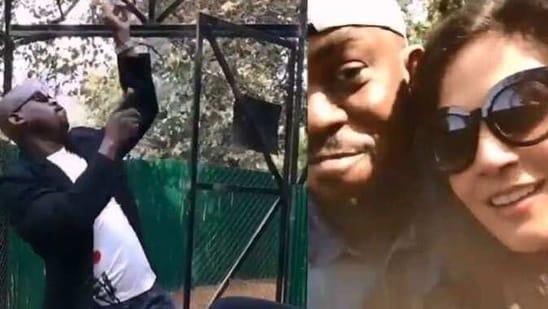 Richa Chadha has shared two fun videos featuring late Fukrey actor Olanokiotan Gbolabo Lucas.
