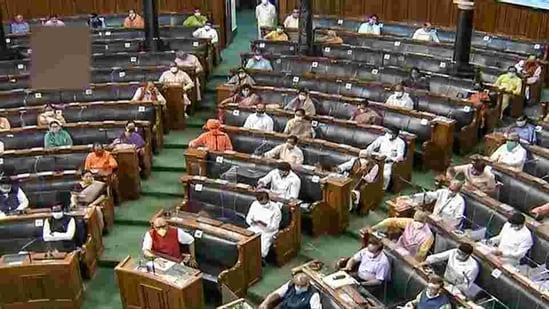 In 2020, 49 interventions in regional languages were made during 33 sittings at the rate of 1.49 per sitting, marking an increase to 512 per cent.(PTI file photo)