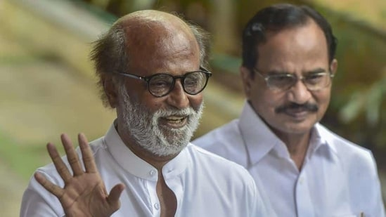 Actor Rajinikanth.(PTI)