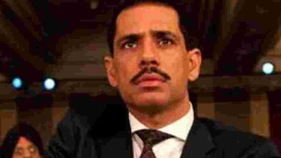 Robert Vadra had denied any wrongdoing in the past even as the Congress party had called the action political vendetta.(HT File Photo)