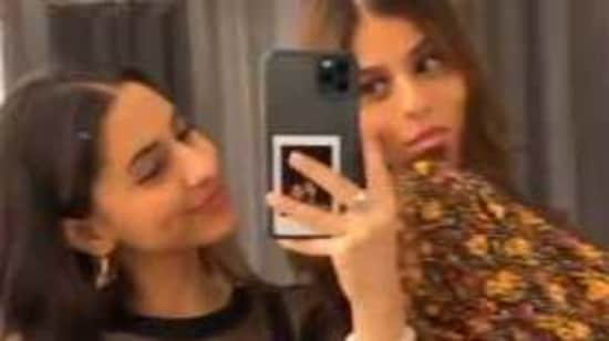 Suhana Khan and her cousin Alia Chhiba often share pictures together,