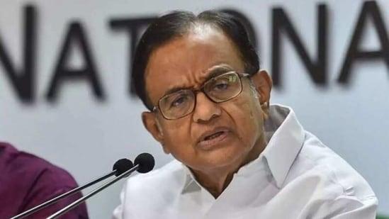 Senior Congress leader P Chidambaram(File photo)
