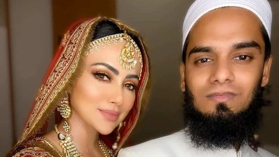 Sana Khan married Anas Saiyad in November last year.