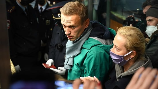 Western countries may consider targeted sanctions on Russian individuals deemed to have been involved in Navalny's arrest and any decision to jail him.(AFP)