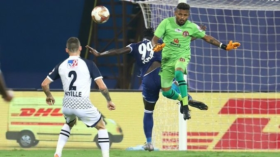 SC East Bengal held off Chennaiyin FC to a goalless draw(ISL/Twitter)