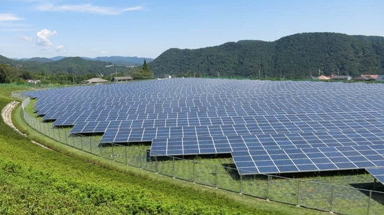 Mizoram's first solar power plant has been commissioned at Tlungvel.(Reuters/ Representational photo)