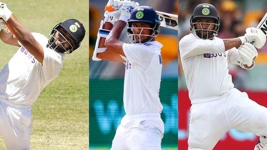 L to R: Rishabh Pant, Washington Sundar, Shardul Thakur. (Getty Images)
