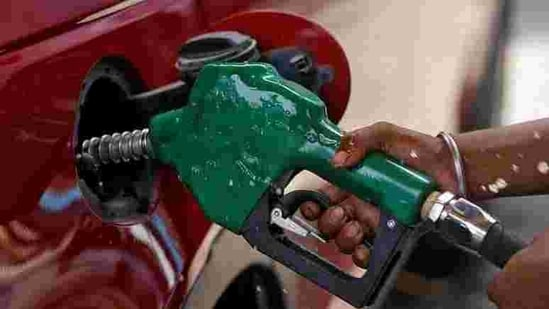 Petrol and diesel became costlier by 25 paise per litre on Tuesday in the Capital(Reuters)