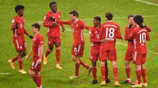 File photo of Bayern Munich players(REUTERS)