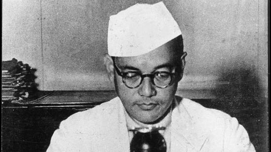 Netaji Subhas Chandra Bose. (HT Archive)