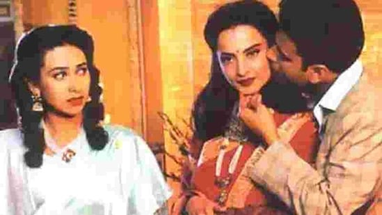 Karisma Kapoor played the titular role in Zubeida also starring Manoj Bajpayee and Rekha.