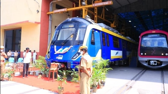 The first coach for Metro-2A or the Yellow line will leave Bengaluru on January 23 and reach Mumbai's Charkop depot on January 27.