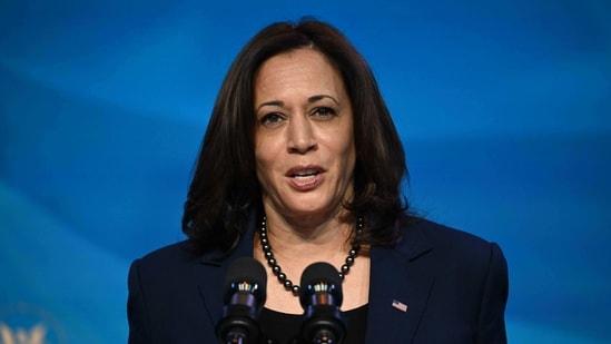 US Vice President-elect Kamala Harris.(AFP)